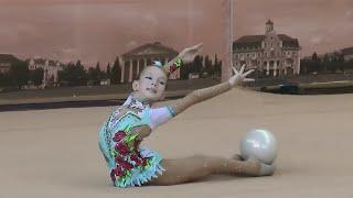 "Байдаленко Аліна (мяч) 2005-Кат.С ""Перлина Полісся 2015"" Художественная гимнастика"