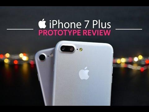 iPhone 7 Plus Prototype Hands On!