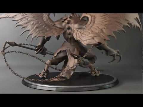Digital Sculpting Demo Reel 2012