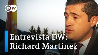 Richard Martínez en Foro de Davos