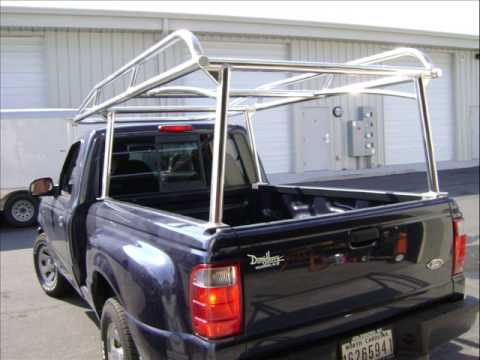 Pickup Truck Racks >> Ladder Racks - High Speed Welding - Ryder Racks - YouTube