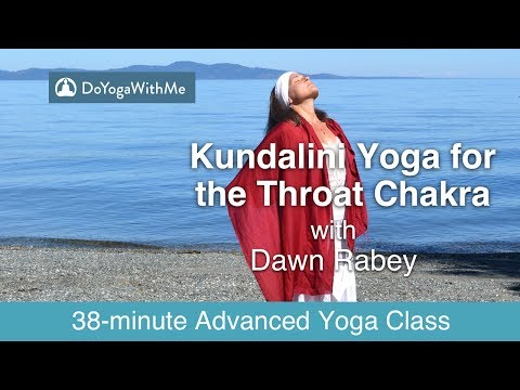 Kundalini Yoga with Dawn Rabey: Kundalini Yoga for the Throat Chakra