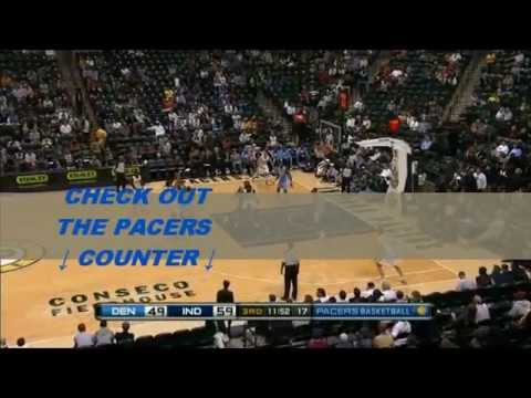 NBA Milestones 2010-2011-Indiana Pacers score 54 points in a quarter