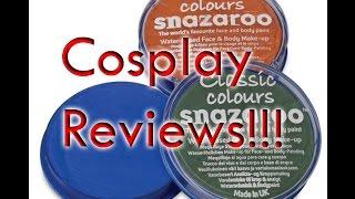 Poppycock Reviews: Snazaroo Face Paint