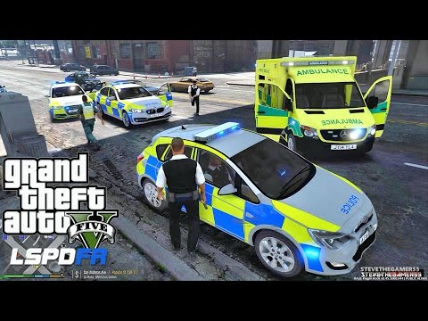 GTA 5 LSPDFR 0.3.1 - EPiSODE 191 - LET'S BE COPS - BRITISH PATROL (GTA 5 PC POLICE MODS)