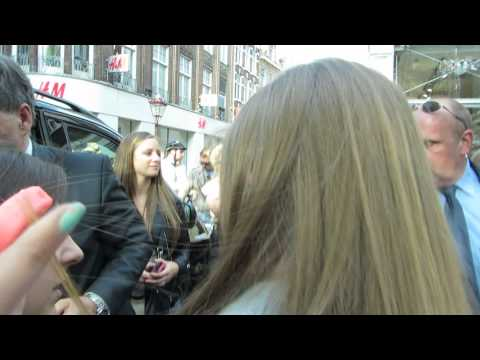 One Direction at Kalverstraat in Amsterdam
