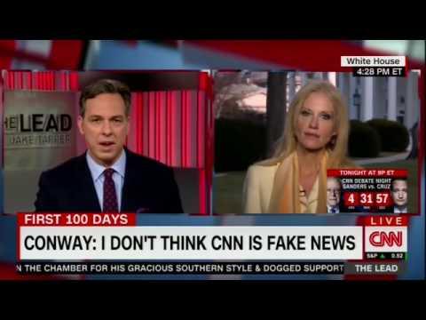 CNN's Jake Tapper breaks down Trump's lies to Kellyanne Conway