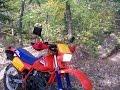 1985 Honda XL350R Dual Sport Ride
