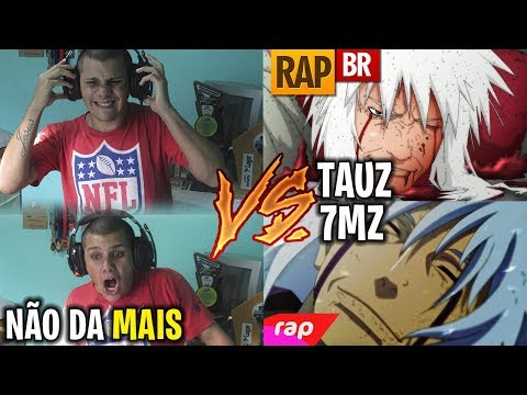 REACT Rap do Jiraiya (Naruto) TAUZ VS 7MZ
