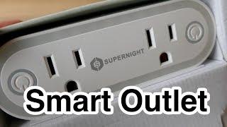 Supernight WiFi Smart Outlet in 4k UHD