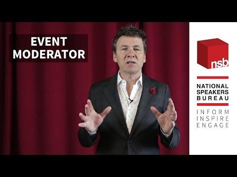 Tony Chapman: Event Moderator |  National Speakers Bureau
