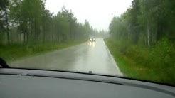 Tormenta en Kuusamo (FI)