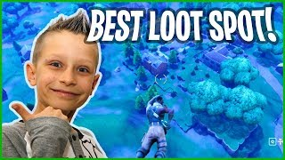 Best Loot Spot in Fortnite Battle Royale! [no name]