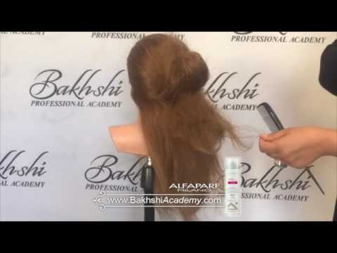 Free hairstyle training of Bakhshi hair academy