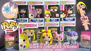 Funko POP! Sailor Moon Wave 2, Glitter & Exclusives Review ~  セーラームーン