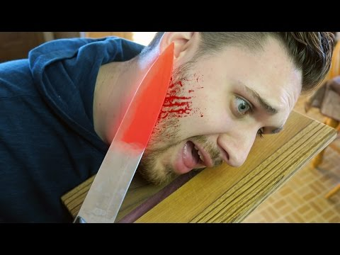 Thumbnail: EXPERIMENT Glowing 1000 degree KNIFE VS FACE
