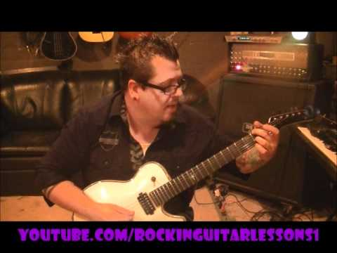 Dokken - Into The Fire(intro) - Guitar Lesson by Mike Gross