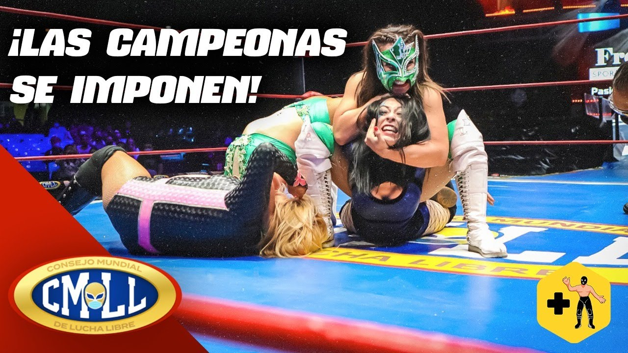 CMLL   LLuvia, La Jarochita y Marcela se imponen ante Stephanie Vaquer, Dalys y Amapola