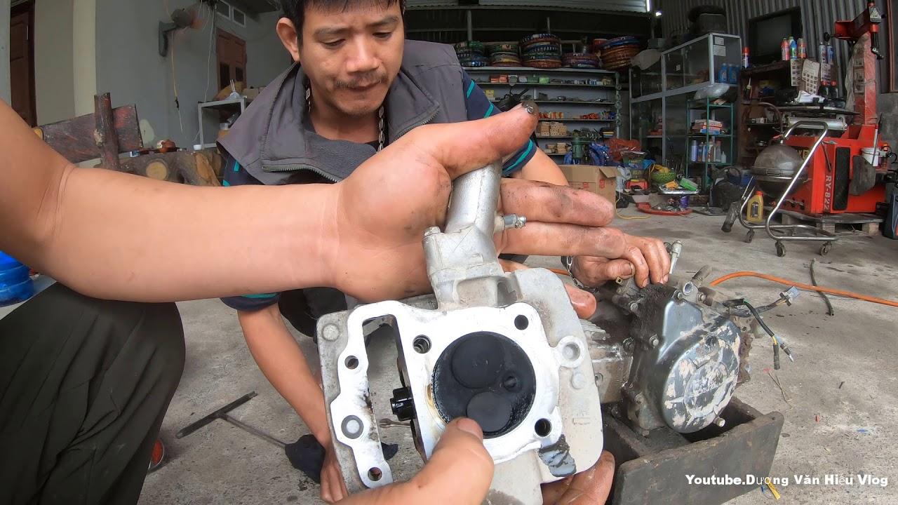 Xe Khói Máy Kêu Như Máy Cày | Dạy Sửa Chữa Động Cơ HONDA Wave S110 Tiếng Kêu Như Phá Máy