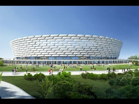 EURO2020 Baku Olympic Stadium