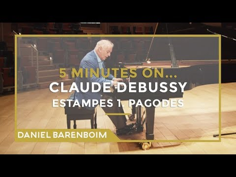 5 Minutes On... Debussy - Estampes 1. Pagodes | Daniel Barenboim [subtitulado]