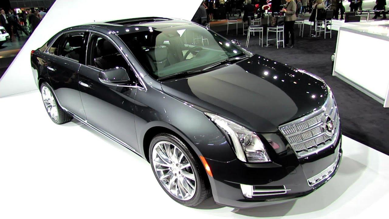 2013 Cadillac Xts Platinum Exterior And Interior Walkaround 2012 Los