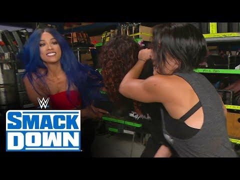 Sasha Banks sets up Tamina for blindside attack: SmackDown, May 1, 2020