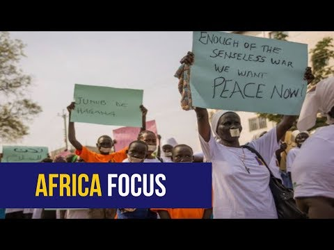 AFRICA FOCUS: War protest, Raila Odinga and commission against human traffickers
