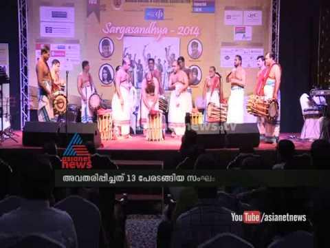 Triple Tayampaka by Mattannoor Sankaran kutty and team Asianet Gulf News