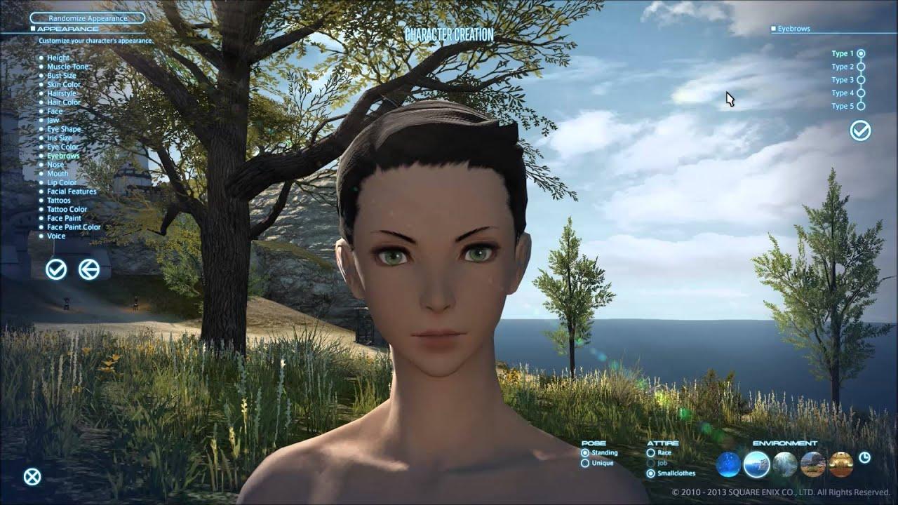 Final fantasy xiv character creation guardian