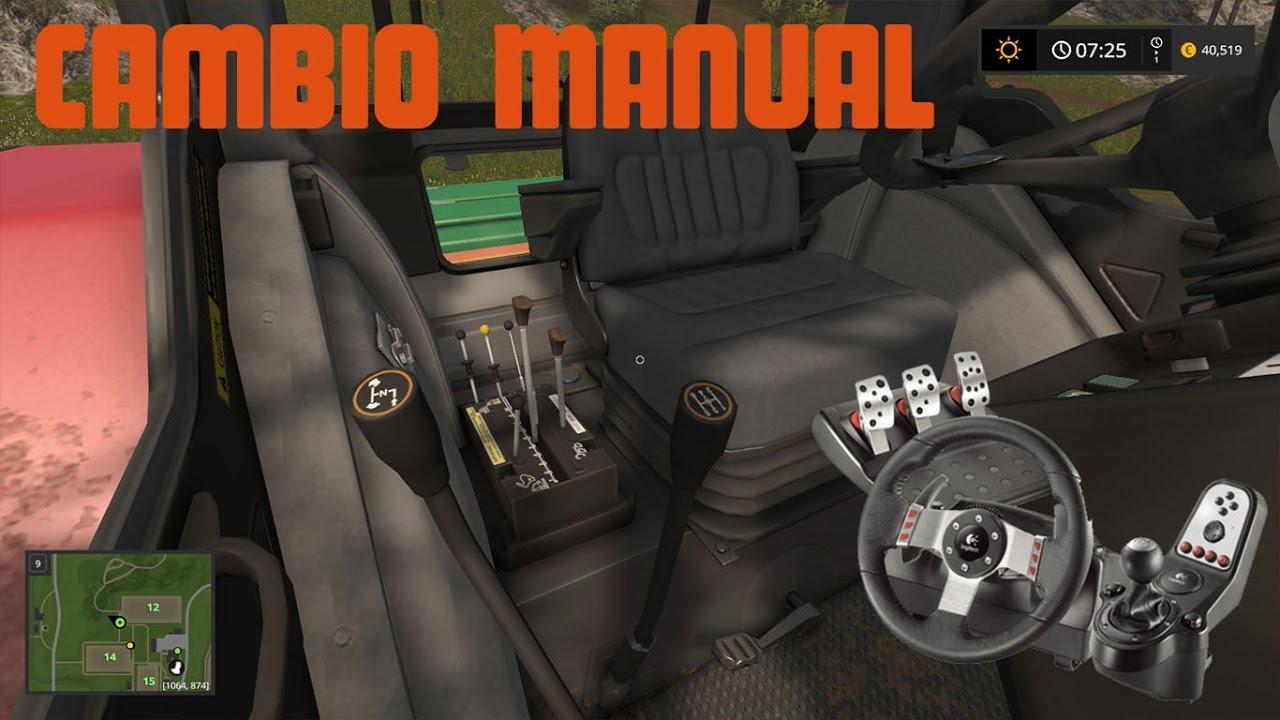 Tutorial - Cambio manual Farming Simulator 17