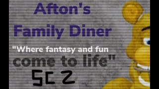 Roblox Afton's Family Dinner [EARLY ACCESS] I SC #2 (secret character 2)