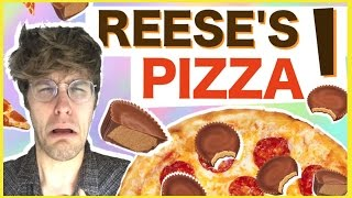 REESE'S PIZZA?! 'WILL IT COMBO?' w/ DREW MONSON
