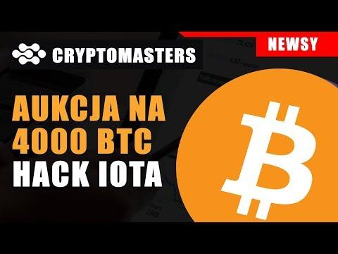 AUKCJA NA 4000 BTC | HACK IOTA | PROBLEMY TREZORA [21.02.2020]