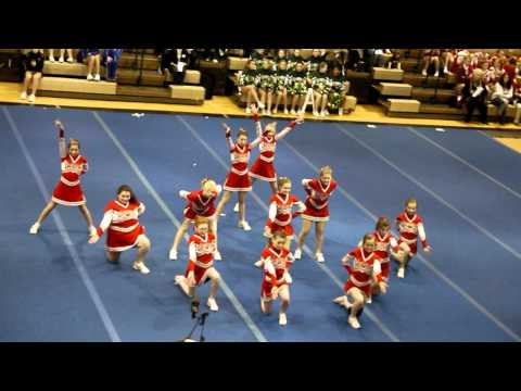 Geneva Middle School cheer competition at Chardon