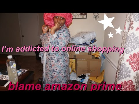 Unboxing All My Amazon Packages Since Last Year At 1:34 In The Morning + Free Stuff.