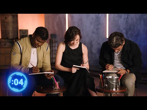 Daisy Ridley and John Boyega doing their best pitch on set of The Rise of Skywalker from YouTube · Duration:  22 seconds