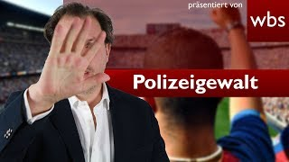 Polizeigewalt in Deutschland – Sieg für Fußballfans | Rechtsanwalt Christian Solmecke