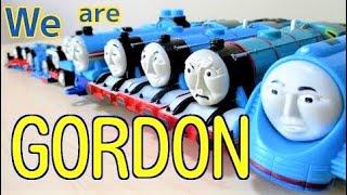 【We are Gordon!】Thomas & Friends きかんしゃトーマス シューティング・スター(ゴードン) thumbnail