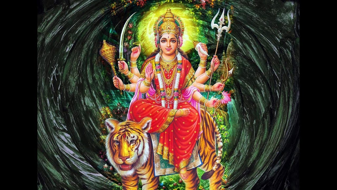 Good Morning Wishes With Maa Durga Photo Hd Pics Images Download