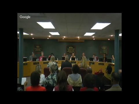 Board Of Education Meeting October 2 2017
