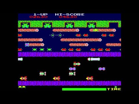 Frogger 1981 by Konami - Retro Arcade Game - M.A.M.E