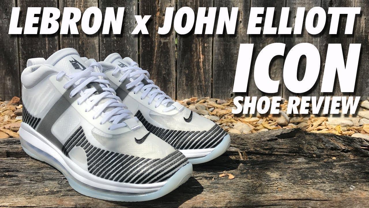 66a27866f15 LEBRON x JOHN ELLIOT ICON ON-FOOT REVIEW! - YouTube