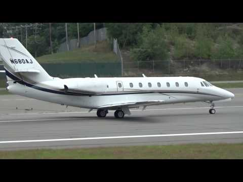 Private Charter Jet, Private Plane, Takeoff (MHT)