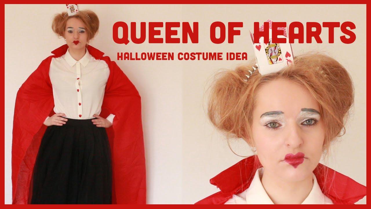 Queen Of Hearts Halloween Diy Costume Inspiration