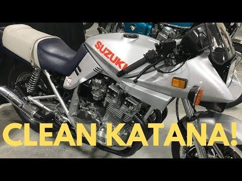 CLEAN SUZUKI KATANA WILL MAKE YOU REMINISCE