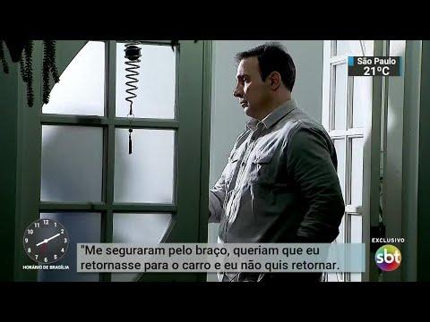 Condomínios de luxo vivem onda de sequestro relâmpago na Grande SP | SBT Brasil (19/07/18)