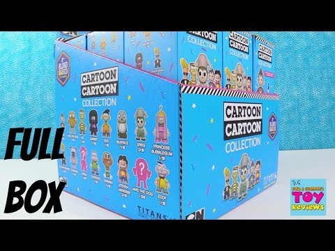Cartoon Network Collection Vinyl Figures Blind Box Opening CN Review | PSToyReviews