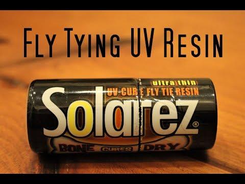 Fly Tying: Solarez Ultra Thin Bone Dry UV Resin