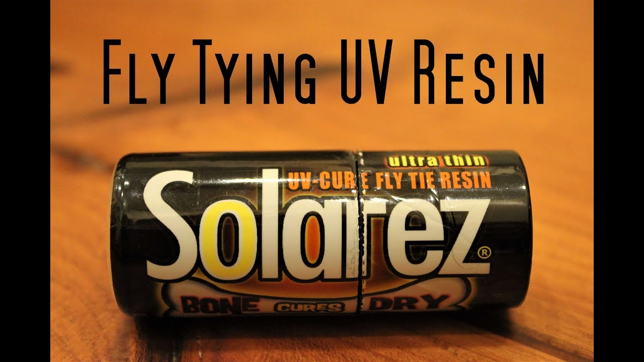 Fly Tying: Solarez Ultra Thin Bone Dry UV Resin